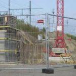 Mobil építési kerítés